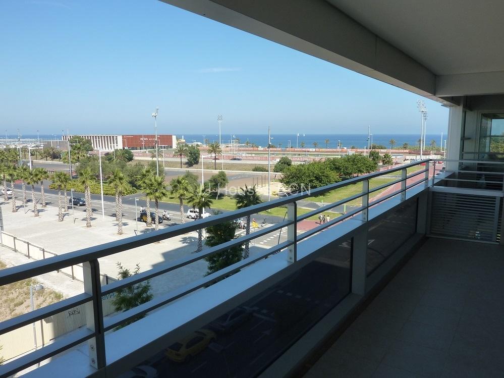 Diagonal Mar , vistas mar en Barcelona con parking