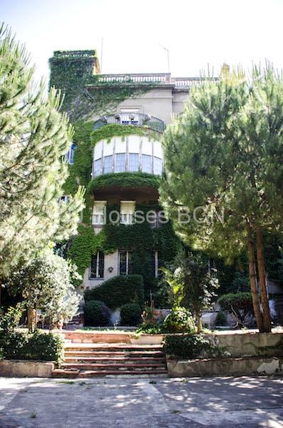 Palacete finca regia en AVDA TIBIDABO ,    Barcelona